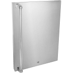 Blaze Stainless Steel Refrigerator Front Door Sleeve Upgrade Kit (4.5 Cu Refrigerator)