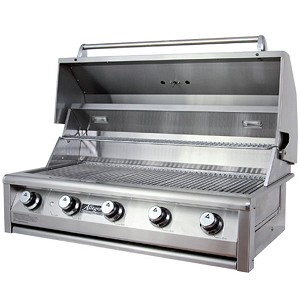 Allegra 38 Quot Built In Gas Grill La Custom Grill Islands