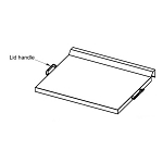 Blaze Griddle Lid Handle