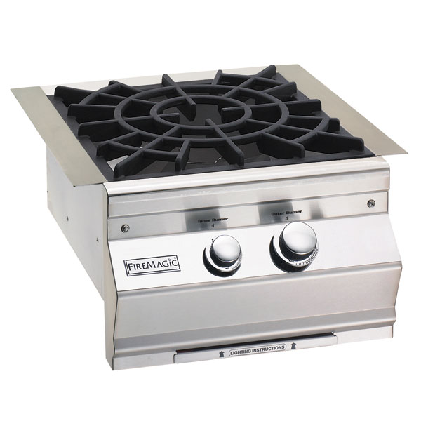 Fire Magic Sideburners/Warming Drawers