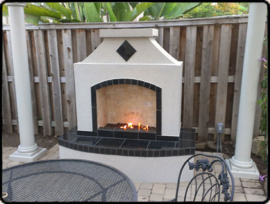 Outside Fireplaces & Firepits