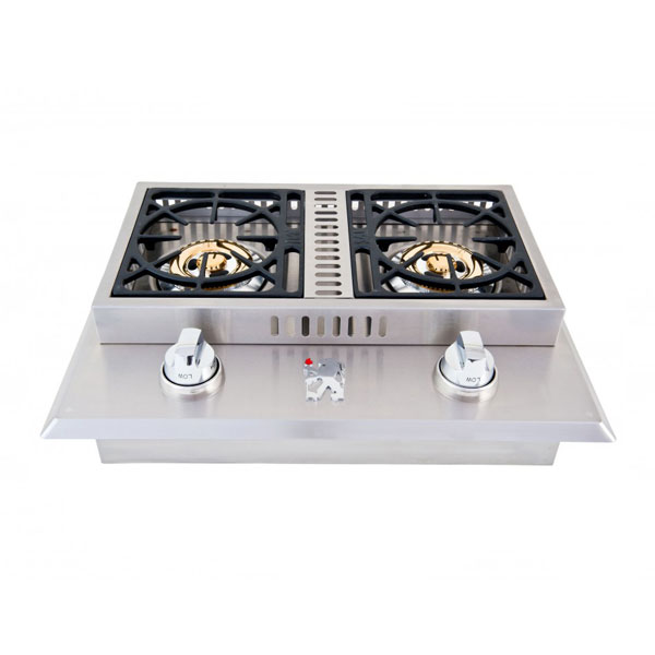 Lion Side Burners/Warming Drawer