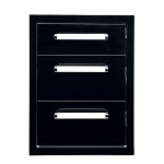 Bonfire Triple Drawer - Black Series