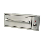 Allegra Stainless Steel Warming Drawer