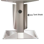 AOG Grill Patio Post Tank Shield - TH-PP-2