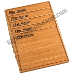 Fire Magic 5-Pack of Bamboo Cutting Boards - 3582-5