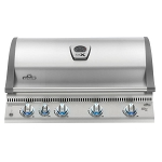 Napoleon Lex 605 RBI Built-In Gas Grill w/Infrared Bottom & Rear Burner
