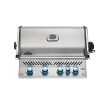 Napoleon Prestige Pro 500 RB Built-In Grill With Infrared Rear Burner