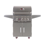 Bonfire 28-Inch 3-Burner Grill Cart