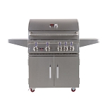 Bonfire 34-Inch 4-Burner Grill Cart