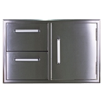Bonfire Door & Double Drawer Combo