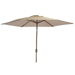 Bull Patio Table/Grill Island Umbrella