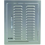 Bull Single Vertical Access Door With Louvered Vents