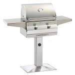 Fire Magic Choice C430s Grill w/Patio Post & Base