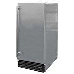 Cal Flame 3.25 Cu. Ft. Outdoor Stainless Steel Refrigerator