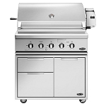 DCS 36-Inch Traditional 7 Series Grill W/Rotisserie On Cart (BH1 Model)