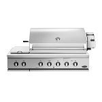 DCS 48-Inch Traditional 7 Series Built-In Grill W/Rotisserie & Double Side Burner (BH1 Model)