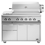 DCS 48-Inch Traditional 7 Series Grill W/Rotisserie & Double Side Burner On Cart (BH1 Model)