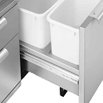 DCS CAD Cart & Access Drawers Waste Basket Holder