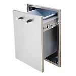 Delta Heat 18-Inch Tall Double Trash Drawer