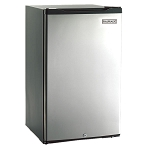 Fire Magic 4.0 Cu. Ft. Refrigerator - Stainless Steel Door / Black Cabinet - 3598