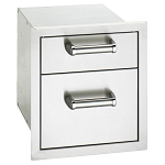 Fire Magic Premium Double Flush Mount Drawer