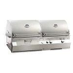 Fire Magic Aurora A830i Gas/Charcoal Combo Built-In Grill