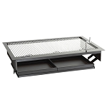 Fire Magic Firemaster 24-Inch Drop-In Charcoal Grill - 3329