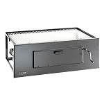 Fire Magic 30-Inch Lift-A-Fire Built-In Charcoal Grill - 3334