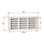 Fire Magic Island Louvered Vent Panel