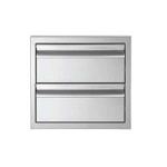 Jentek Double Drawer - Flush Handle