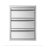Jentek Triple Drawer - Flush Handle
