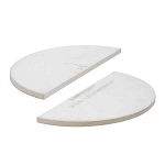 Kamado Joe - Classic Joe Half Moon Heat Deflector Plate (Set of 2) - KJ-HDP