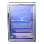 Mont Alpi Freestanding Stainless Steel Fridge