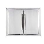 Napoleon Medium Stainless Steel Double Door