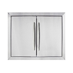 Napoleon Large Stainless Steel Double Door