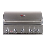 Bonfire 42-Inch 5-Burner Built-In Grill