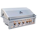 Sunstone Ruby 42-Inch 5-Burner Infrared Pro-Sear