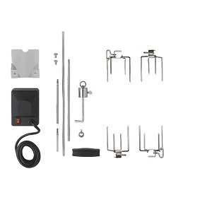 Napoleon Heavy Duty Rotisserie Kit For Medium Size Grills