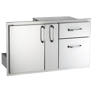 "AOG 36"" Door With Double Drawer & Platter Storage Combo"