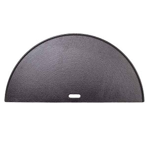 Kamado Joe Half Moon Cast Iron Reversible Griddle - Big Joe - BJ-HCIGRIDDLE