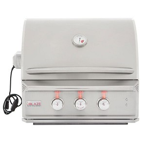 "Blaze Professional 27"" 2-Burner Gas Grill With Rear Infrared Burner"
