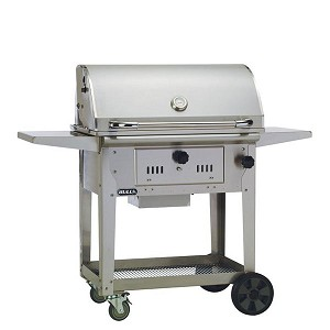 "Bull Bison 30"" Charcoal Grill Cart"