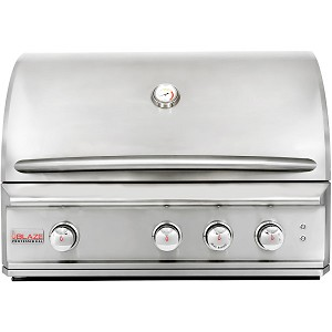 "Blaze Professional 34"" 3-Burner Gas Grill With Rear Infrared Burner"