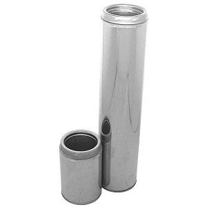 "Californo 4"" Interior Diameter Insulated Double Wall Chimney Pipe"