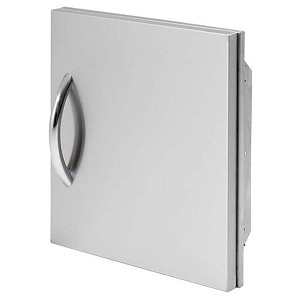 "Cal Flame 18"" Single Vertical Raised Access Door"