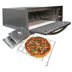 Cal Flame 2-in-1 Pizza Oven/Warmer (110V)