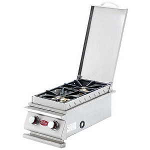 Cal Flame Deluxe Double Side Burner (Open Box)