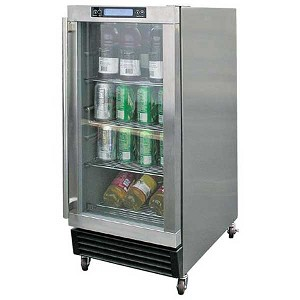 Cal Flame 3.25 Cu. Ft. Outdoor Stainless Steel Beverage Cooler