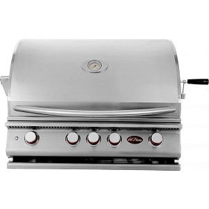 Cal Flame P4 32-Inch 4-Burner Built-In Grill